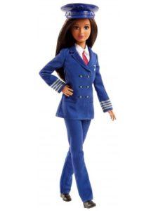 кукла-барби-пилот